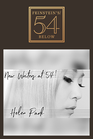 New Writers at 54! Helen Park in concert