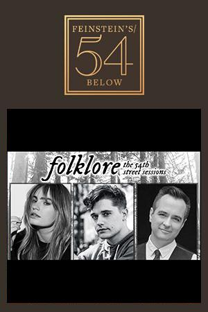 folklore: the 54th street sessions, starring kathryn gallagher and andy mientus