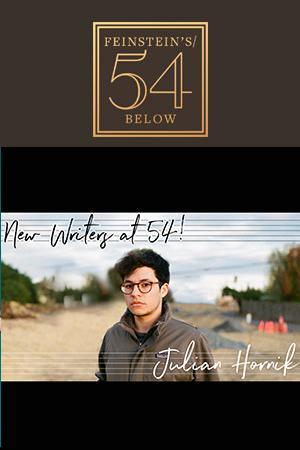 New Writers at 54! Julian Hornik