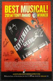 <em>A Gentleman's Guide to Love & Murder</em> Signed Poster Image