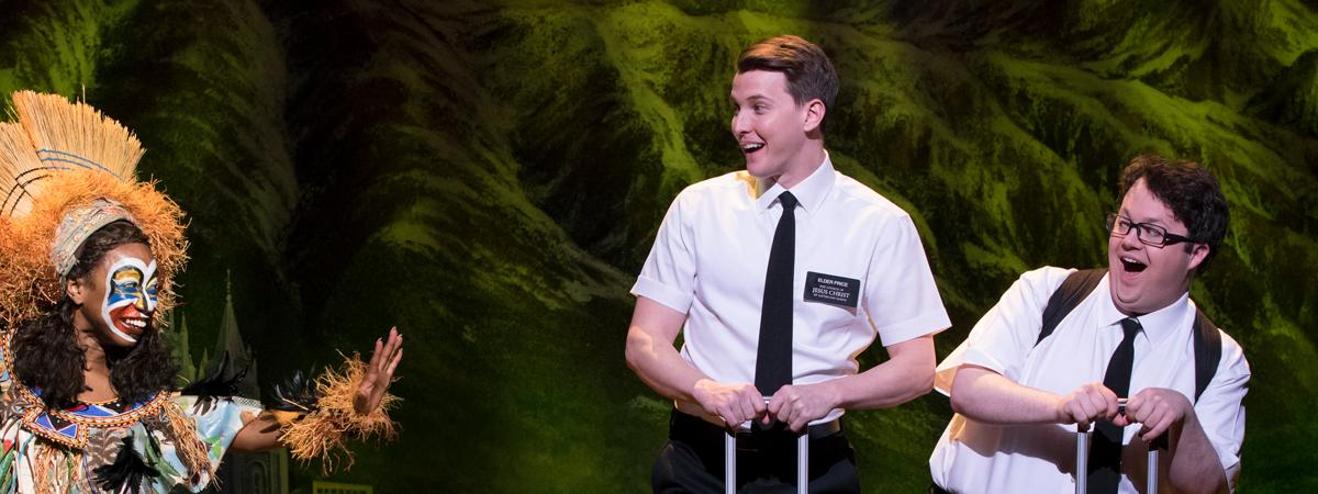The Book of Mormon Banner Ad