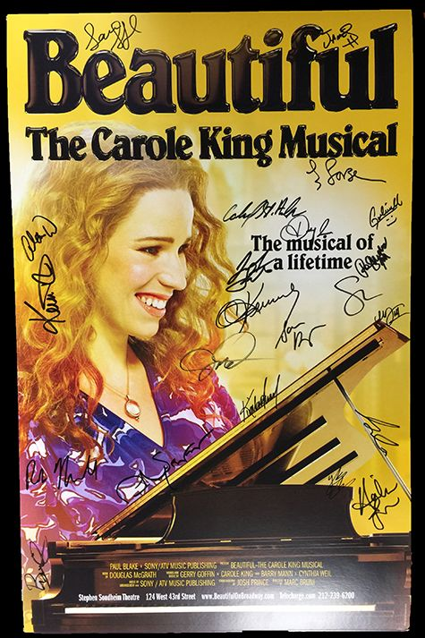 <em>Beautiful: The Carole King Musical</em> Signed Poster Image