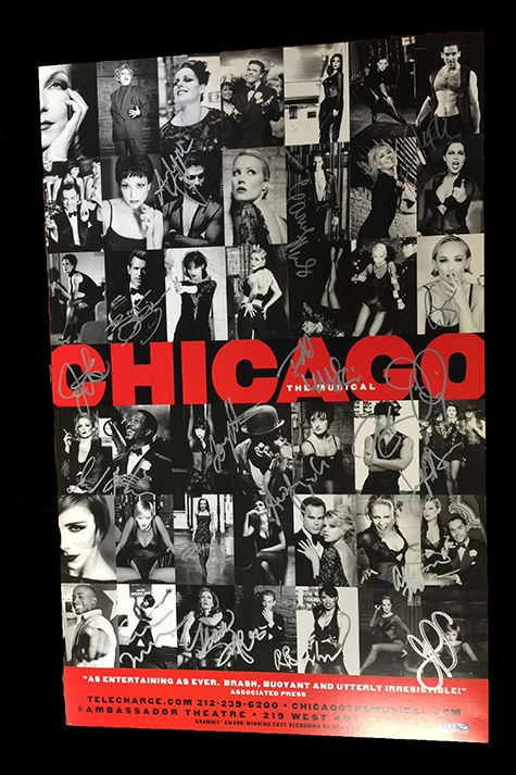 <em>Chicago</em> Signed Poster Image