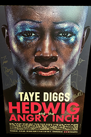 <em>Hedwig and the Angry Inch</em> Signed Poster by Taye Diggs Image