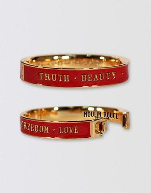 Moulin Rouge! The Musical Cuff Bangle - Red Image