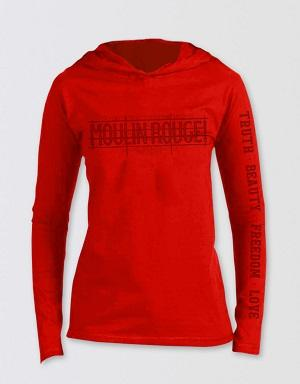 Moulin Rouge! The Musical Vintage Red Hoodie Image