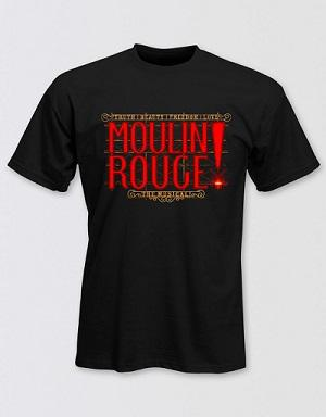 Moulin Rouge! The Musical Logo T-Shirt Image