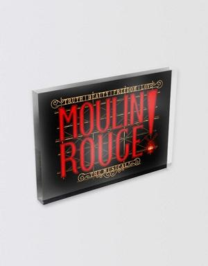 Moulin Rouge! The Musical Logo Magnet Image