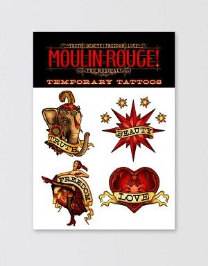 Moulin Rouge! The Musical Temporary Tattoo Set Image