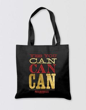 Moulin Rouge! The Musical Tote Bag - Yes You Can Can Image