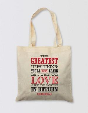 Moulin Rouge! The Musical Tote Bag - The Greatest Thing Image