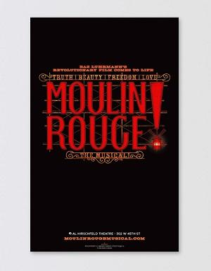 Moulin Rouge! The Musical Poster - Logo Image