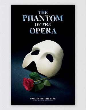 The Phantom of the Opera Broadway Poster Image
