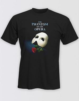 The Phantom of the Opera Broadway Logo T-Shirt Image