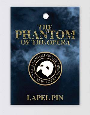 The Phantom of the Opera Broadway Lapel Pin Image