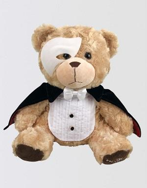 The Phantom of the Opera Teddy Bear Image