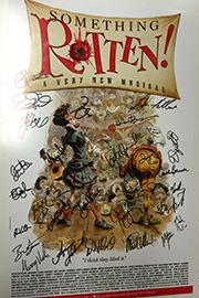 <em>Something Rotten!</em> Signed Poster Image