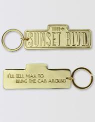 Sunset Boulevard Keychain Image