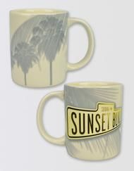 Sunset Boulevard Coffee Mug Image