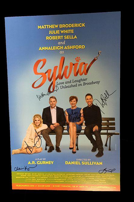 <em>Sylvia</em> Signed Poster Image