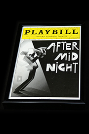 <em>After Midnight</em> Signed Playbill Image